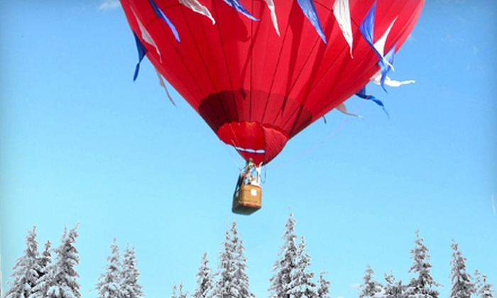 U.S. Hot Air Balloon Team - Multiple Locations: $330 for Ride for Two over Lancaster County's Amish Farm Country or Philadelphia's Countryside from the U.S. Hot Air Balloon Team ($558 Value)