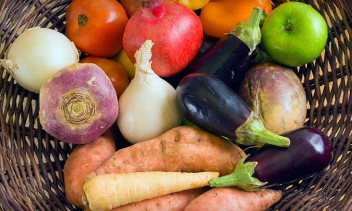 Nature's Garden Delivered - Multiple Locations: $19 for a Small Box of Produce with Home Delivery from Nature's Garden Delivered ($38 Value)