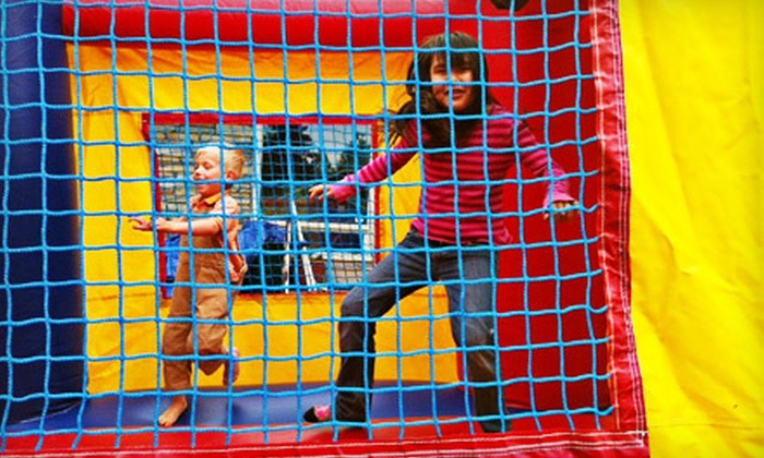 For Fun Alaska - Anchorage: Kids' Birthday Package or Self-Service Bounce-House Rentals from For Fun Alaska (Up to 60% Off). Three Options Available.