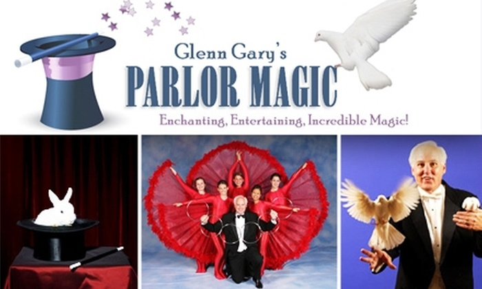 Glenn Gary Productions  - Downtown - Penn Quarter - Chinatown: $22 Tickets to Glenn Gary's Parlor Magic Show (Price Sawed in Slightly-More-Than Half!)