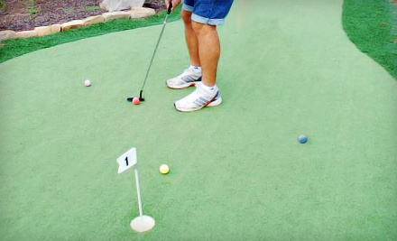 Putt-Putt Package for 4 (up to a $31 value) - The Georgia Trail in Duluth