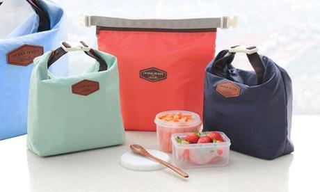 Bolsa térmica para llevar comida desde 6,98 € (hasta 76% de descuento) Oferta en Groupon