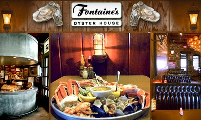 Fontaine's Oyster House - Virginia Highland: $10 for $25 Worth of Seafood, Drinks, and More at Fontaine's Oyster House