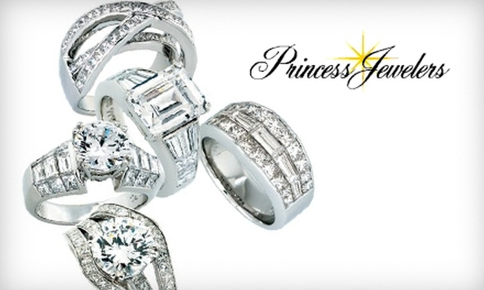 Princess Jewelers - Multiple Locations: $40 for $150 Worth of Jewelry at Princess Jewelers