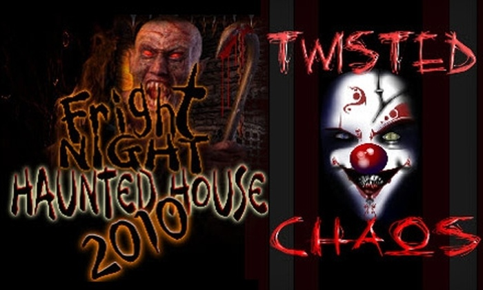 Fright Night and Twisted Chaos - Central City: Admission to Fright Night and Twisted Chaos Haunted Attractions. Choose Between Two Options.