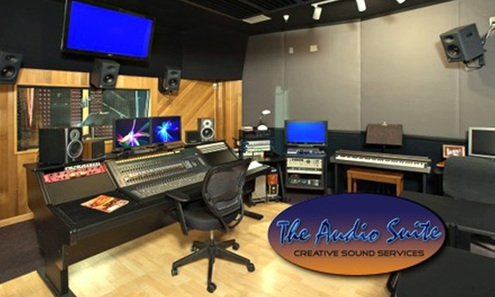 The Audio Suite - Chandler: $40 for a One-Hour Studio Session at The Audio Suite ($80 Value)