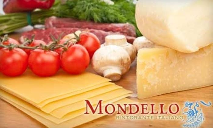 Mondello Italian Restaurant - Southeast Magnolia: $25 for $50 Worth of Authentic Sicilian Cuisine at Mondello Italian Restaurant in Magnolia Village