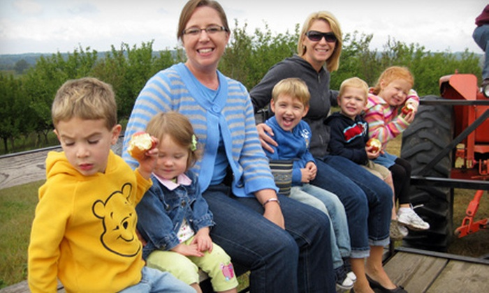 Ditmars Orchard - Omaha: $8 for a Family Orchard Outing for Two Adults and Two Kids Plus Five Pounds of Apple Picking at Ditmars Orchard in Council Bluffs ($16 Value)