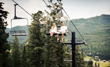 Scenic Summer Chairlift Ride for Two or Four at Solitude Mountain Resort (Half Off)