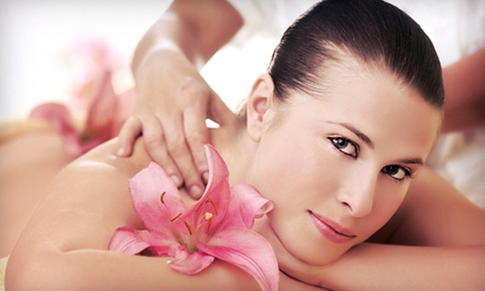 Natural Beauty Salon and Spa - West: 50- or 80-Minute Deep-Tissue Massage Package at Natural Beauty Salon and Spa (53% Off)