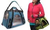 Groupon.com deals on Soft-Sided Airline Approved Travel Pet Carrier