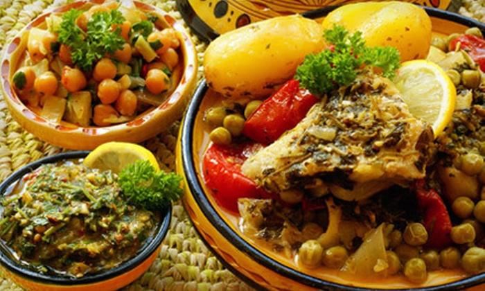 Nile Ethiopian Restaurant - North Gate,Northwest Washington: Lunch or Dinner Fare at Nile Ethiopian Restaurant (Half Off)