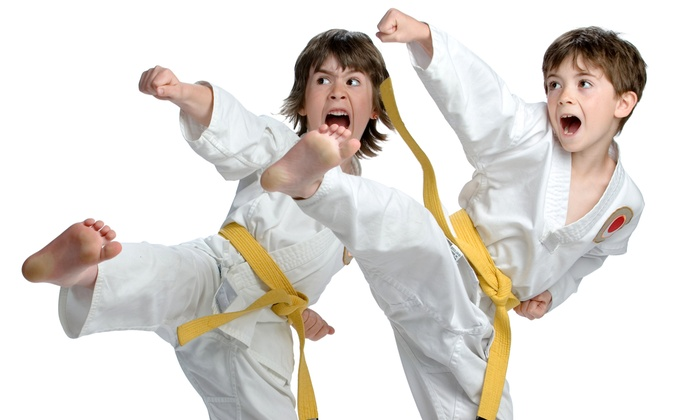 Golden Tiger Taekwondo Academy - Garland: 5 or 10 Taekwondo or Karate Lessons with Uniform at Golden Tiger Taekwondo Academy (Up to 70% Off)