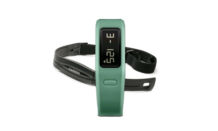 vivofit heart rate monitor how to use