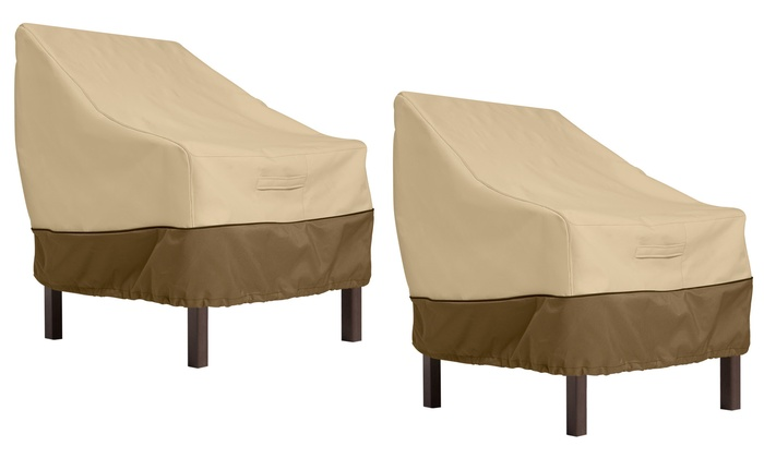 Up To 28 Off On Classic Accessories Chair Cover Groupon Goods