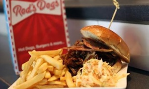 Rods Dogs: Two-Course American Diner Meal for Two or Four at Rod's Dogs