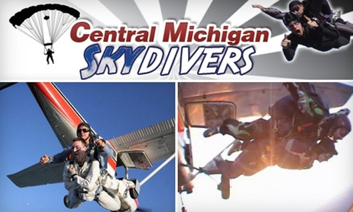 Central Michigan Skydivers - Union: $119 for a Tandem-Jump Skydive from Central Michigan Skydivers ($225 Value)