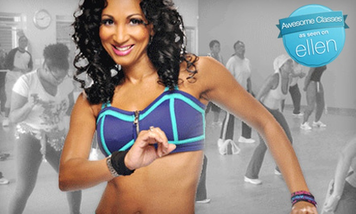 Zumba Fitness & Health - Multiple Locations: 5 or 10 Drop-In Zumba Classes or Six-Week Boot Camp at Zumba Fitness & Health