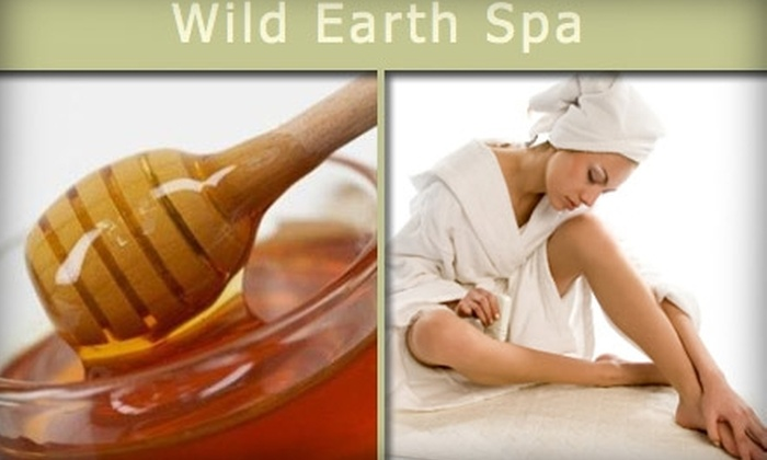 Wild Earth Spa - Bonita: $27 for $55 Worth of Sugaring Hair-Removal Services from Wild Earth Spa