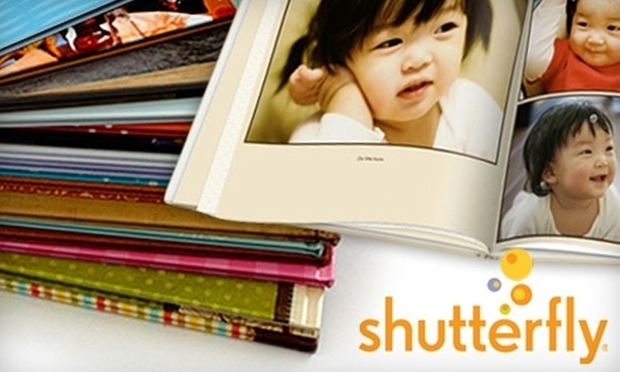 "Shutterfly - Minneapolis / St Paul: $10 for a 20-Page 8""x8"" Hardcover Photo Book from Shutterfly"