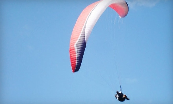 Air-X - Chebanse: $110 for a Tandem Free-Fly Paragliding from Air-X in Chebanse ($225 Value)