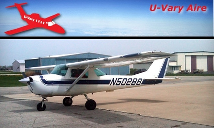 U-Vary Aire - Mansfield: $99 Introductory Flight Lesson from U-Vary Aire ($225 Value)
