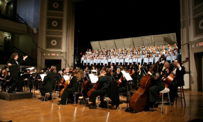"""The Plymouth Philharmonic - Plymouth: Two or Four Admissions to """"Beethoven's Magnificent Fifth!"""" from The Plymouth Philharmonic"""