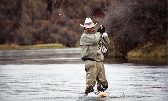 Hook Flyfishing - Highlands Ranch: Full-Day Guided Trip for Two or Fly Fishing 101 or 201 Class for One from Hook Flyfishing in Highlands Ranch (Half Off)