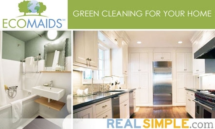EcoMaids - Far North Dallas: $49 for Environmentally Friendly House Cleaning Package from EcoMaids of North Dallas ($110 Value)