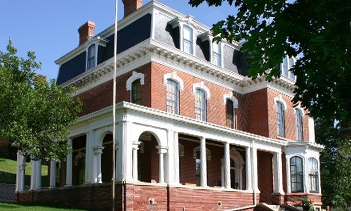 Historic General Dodge House - Council Bluffs: $7 for Two Admissions to a Guided Tour of the Historic General Dodge House in Council Bluffs