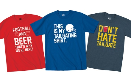 Men's Tailgating T-Shirts
