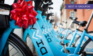 Divvy Bikes: Three 24-Hour Bike-Share Day Passes to Divvy (40% Off)