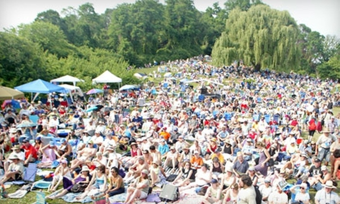 """Clearwater's """"Great Hudson River Revival"""" - Croton-on-Hudson: Admission to Clearwater's Great Hudson River Revival in Croton-on-Hudson on June 18 and 19. Three Options Available."""