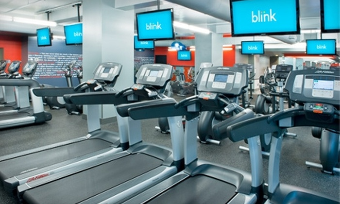 Blink Fitness - Multiple Locations: $10 for a One-Month Membership to Blink Fitness