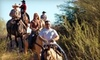 Pantano Riding Stables - Ward 4: $22 for a Sunset Horseback Ride from All Around Trail Horses ($50 Value)