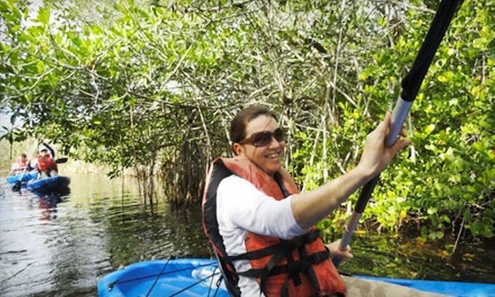 Everglades International Hostel and Everglades Tours - Florida City: $59 for an Everglades Canoe or Kayak Tour from Everglades International Hostel and Everglades Tours ($120 Value) in Florida City