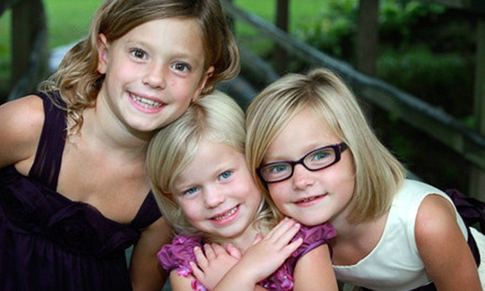Smile America Portraits - Butler - Tarkington: $29 for an Outdoor Spring Colors Portrait Session with Prints from Portrait Scene ($149 Value)