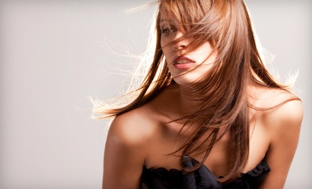 Haircut, Shampoo & Style, and Conditioning Treatment  - Salon Mirage in Tampa