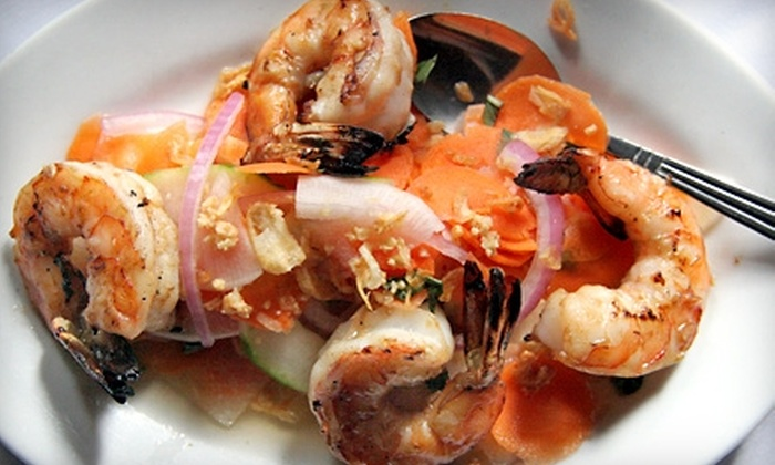 Le Colonial - Manhattan: $10 for 30% Off French-Vietnamese Fusion Fare Between 5 p.m. and 6 p.m. and After 9 p.m. at Le Colonial