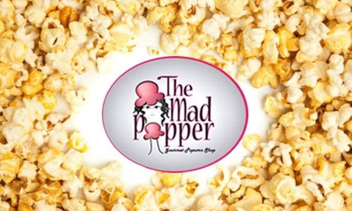 The Mad Popper - Raleigh / Durham: $14 for a 2-Gallon Tin of Popcorn at The Mad Popper ($29 Value)