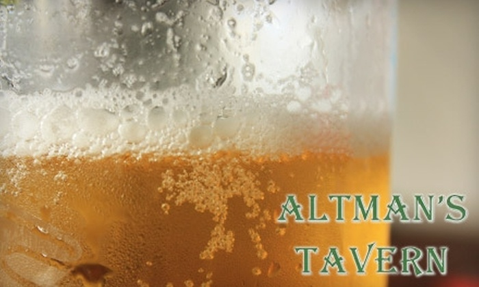 Altman's Tavern - Pleasant Hills: $20 for $40 Worth of American Fare and More at Altman's Tavern