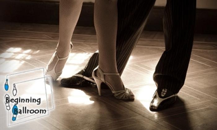 Beginning Ballroom - Lake Evesham: $20 for a Four-Week Ballroom Blitz Class at Beginning Ballroom ($45 Value)