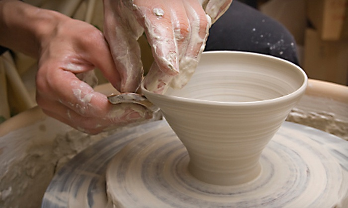 Kiln Pottery - Brecksville: $15 for an Intro to the Wheel Pottery Class at Kiln Pottery ($35 Value)