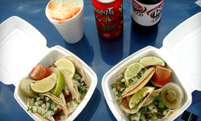 Fuel City - Lake Cliff: Mexican Cuisine or Car Wash at Fuel City. Three Options Available.