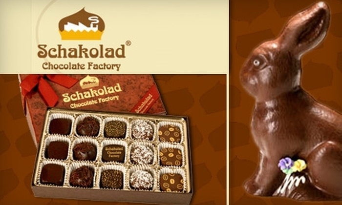 Schakolad Chocolate Factory - Dupont Circle: $10 for $20 Worth of Handmade Confections at Schakolad Chocolate Factory