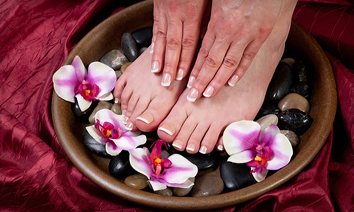 Simply Nails - Raleigh / Durham: Signature or Deluxe Mani-Pedi at Simply Nails in Smithfield (Up to 58% Off)