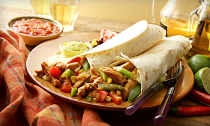 The Border - Carrollton: Mexican Fare and Drinks at The Border in Carrollton (Up to 58% Off). Three Options Available.