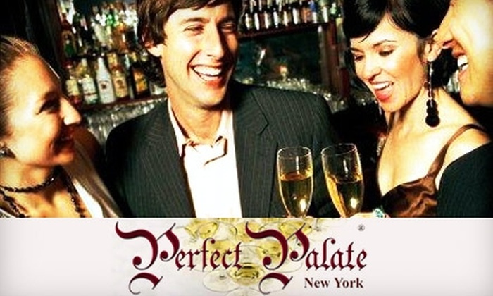 Perfect Palate New York - Multiple Locations: Half Off Wine Tasting Event from Perfect Palate New York. Choose from Eight Dates.
