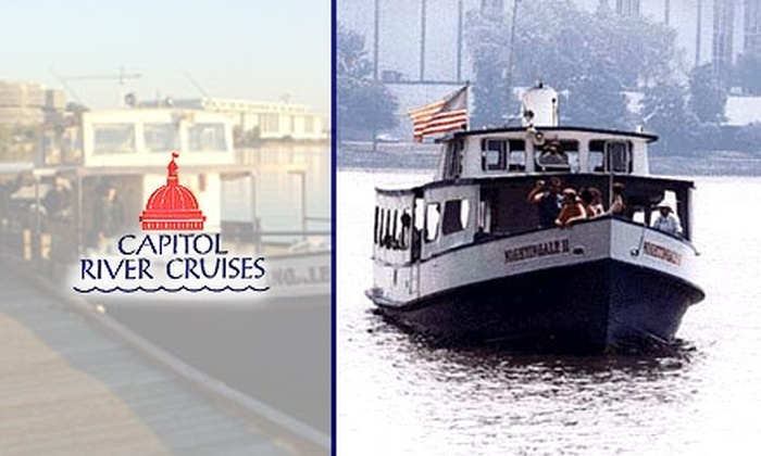Capitol River Cruises - Georgetown: $7 Adult Ticket for a 45-Minute Cruise at Capitol River Cruises