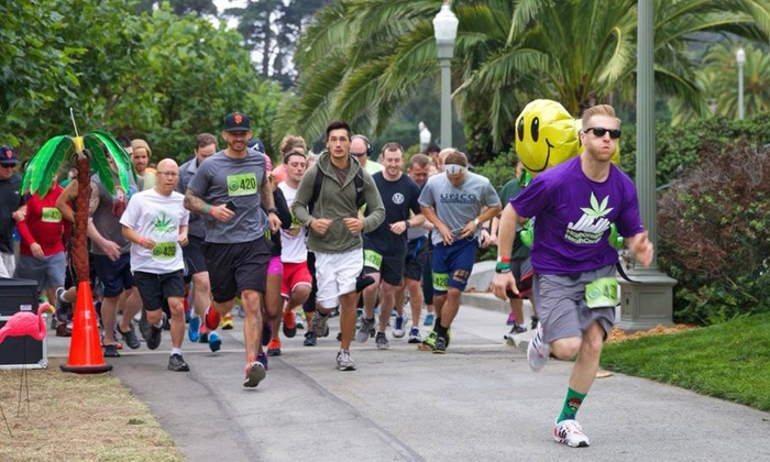 420Games.org - Golden Gate Park: Golden Gate Park Run, Concert, and Beer Tasting for One or Two from 420Games.org (Up to 71% Off)
